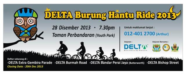 Delat Burung Hantu Nught Ride 2013