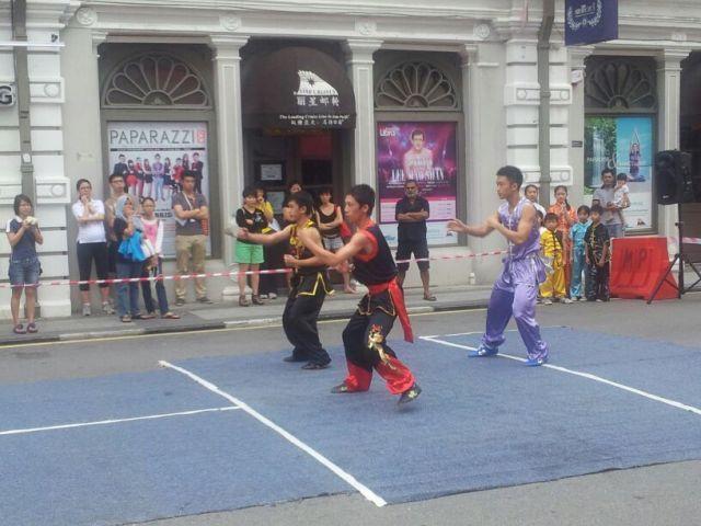 Wushu demo