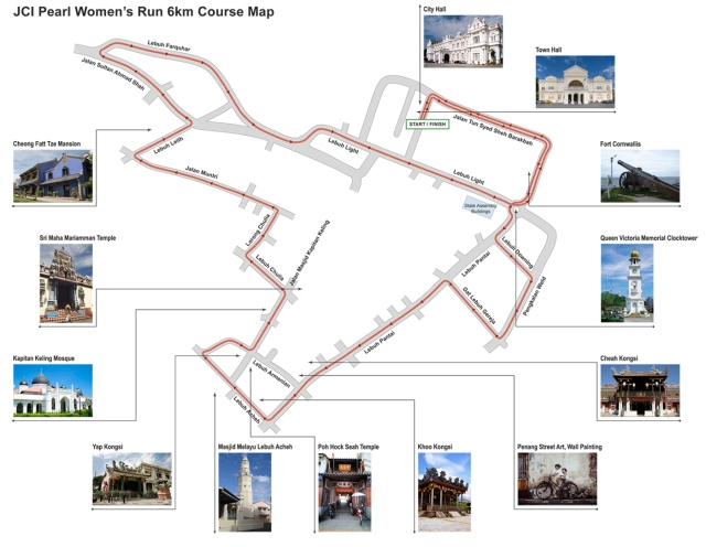 JCI_Pearl Women's Run_route map